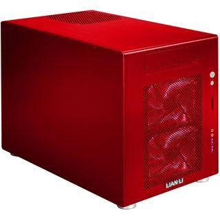 Lian Li Simple & Stylish PC-V354B Wuerfel ohne Netzteil rot