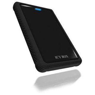 "ICY BOX IB-223StU3+B 2.5"" (6,35cm) USB 3.0 schwarz"