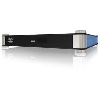 "5.25""(13.34cm) Icy Box IB-540StUS2-BL Slimline SATA/eSATA USB"