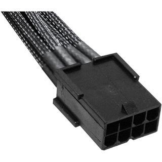 NZXT schwarzes 45cm 8-Pin Stromverbindungskabel für Grafikkarten