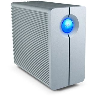"4000GB LaCie 2big 301535 3.5"" (8.9cm) USB 3.0 silber Alu"