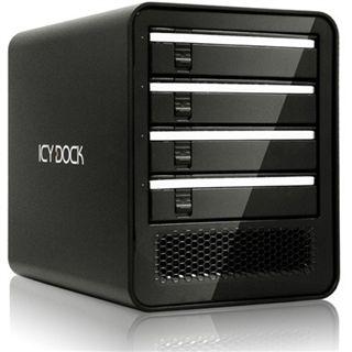 """Icy Dock ICYCube 3.5"""" (8,89cm) eSATA/USB 2.0 schwarz"""