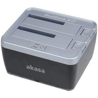"""Akasa DuoDock 2S USB 3.0 Dockingstation für 2.5"""" und"""