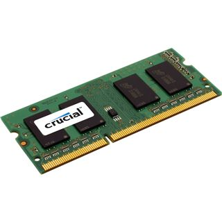 1GB Crucial Value DDR3-1066 SO-DIMM CL7 Single