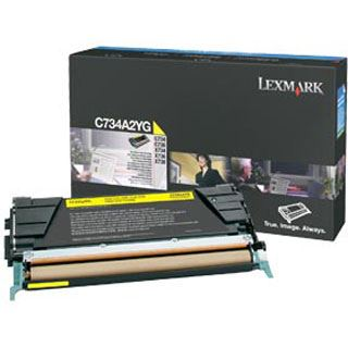 Lexmark C734A2YG LEXMARK LEXM C734 TONER YEL