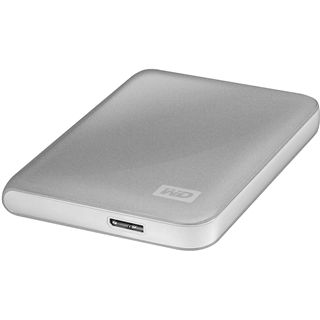 "500GB WD My Passport Essential WDBACY5000ASL-EESN 2.5"" (6.4cm) USB 3.0 silber"