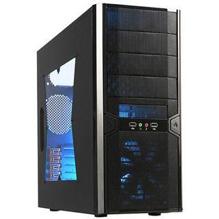 Xigmatek Asgard USB 3.0 Window Midi Tower ohne Netzteil schwarz