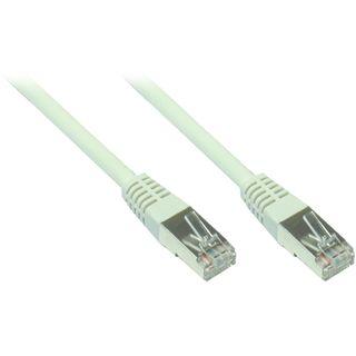8.00m Good Connections Cat. 5e Patchkabel FTP RJ45 Stecker auf RJ45 Stecker Grau