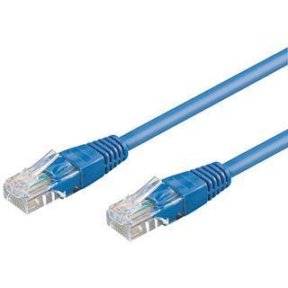 20.00m Good Connections Cat. 5e Patchkabel UTP RJ45 Stecker auf RJ45 Stecker Blau