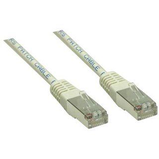 (€7,80*/1m) 0.50m Good Connections Cat. 6 Patchkabel S/FTP PiMF RJ45 Stecker auf RJ45 Stecker Grau