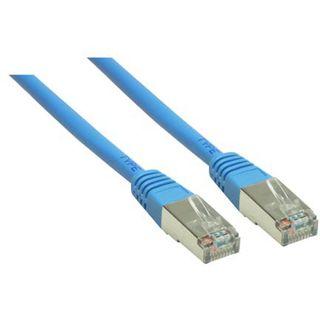 (€3,90*/1m) 1.00m Good Connections Cat. 6 Patchkabel S/FTP PiMF RJ45 Stecker auf RJ45 Stecker Blau