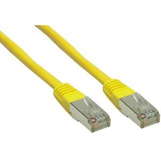 (€0,50*/1m) 50.00m Good Connections Cat. 6 Patchkabel S/FTP PiMF RJ45 Stecker auf RJ45 Stecker Gelb