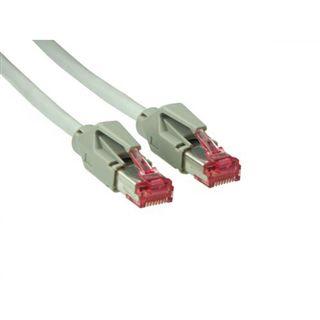 (€4,45*/1m) 2.00m Good Connections Cat. 6 Patchkabel S/FTP PiMF RJ45 Stecker auf RJ45 Stecker Grau halogenfrei