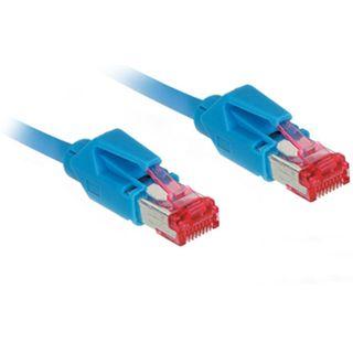 50.00m Good Connections Cat. 7 Patchkabel S/FTP PiMF RJ45 Stecker auf RJ45 Stecker Blau halogenfrei