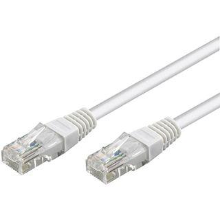 1.00m Good Connections Cat. 6 Patchkabel UTP RJ45 Stecker auf RJ45 Stecker Weiß Knickschutzelement