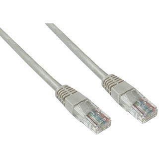 (€0,69*/1m) 10.00m Good Connections Cat. 6 Patchkabel UTP RJ45 Stecker auf RJ45 Stecker Grau