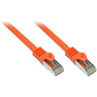 3.00m Good Connections Cat. 7 Patchkabel S/FTP PiMF 600MHz RJ45 Stecker auf RJ45 Stecker Orange