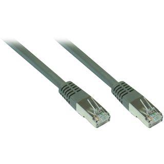 7.00m Good Connections Cat. 7 Patchkabel S/FTP PiMF 600MHz RJ45 Stecker auf RJ45 Stecker Grau