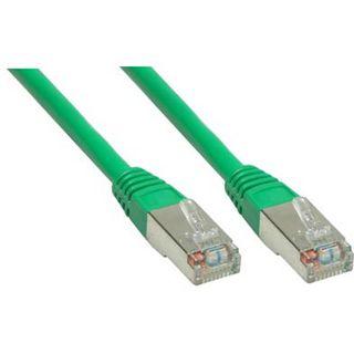 (€0,53*/1m) 15.00m Good Connections Cat. 5e Patchkabel S/FTP RJ45 Stecker auf RJ45 Stecker Grün
