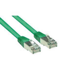 (€0,45*/1m) 20.00m Good Connections Cat. 5e Patchkabel S/FTP RJ45 Stecker auf RJ45 Stecker Grün
