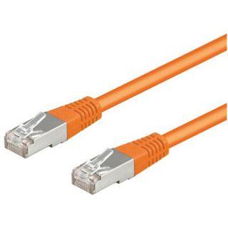 (€0,53*/1m) 15.00m Good Connections Cat. 5e Patchkabel S/FTP RJ45 Stecker auf RJ45 Stecker Orange
