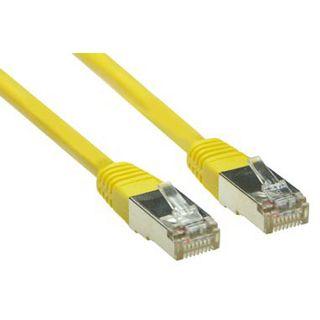 (€1,30*/1m) 3.00m Good Connections Cat. 5e Patchkabel S/FTP RJ45 Stecker auf RJ45 Stecker Gelb