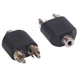 Adapter Audioadapter Klinke Stereo 3,5mm Buchse auf Cinch Stecker