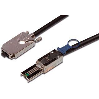 1.00m Good Connections SAS 3Gb/s Anschlusskabel SFF-8088 Stecker auf