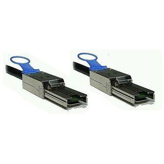 2.00m Good Connections SAS 3Gb/s Anschlusskabel SFF-8088 Stecker auf SFF-8088 Stecker Schwarz