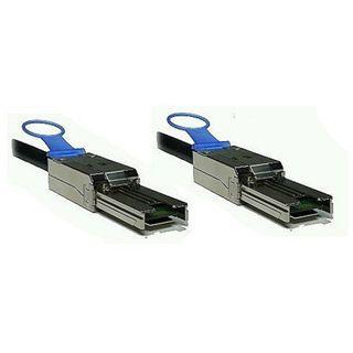 3.00m Good Connections SAS 3Gb/s Anschlusskabel SFF-8088 Stecker auf SFF-8088 Stecker Schwarz