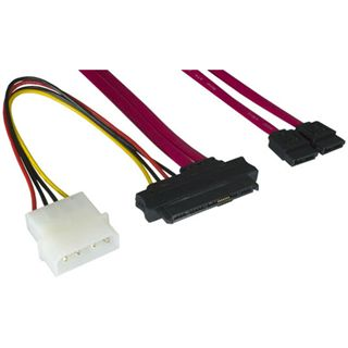 0.50m Good Connections SAS 3Gb/s Anschlusskabel SFF-8482 Stecker +