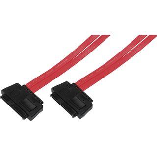 0.50m Good Connections SAS 3Gb/s Anschlusskabel SFF-8482 Stecker auf SFF-8482 Stecker Rot