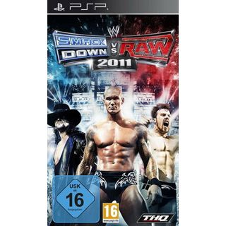 WWE THQ Smackdown vs Raw 2011 (PSP)