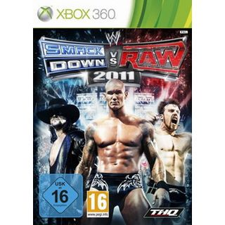 WWE THQ Smackdown vs Raw 2011 (XBox360)