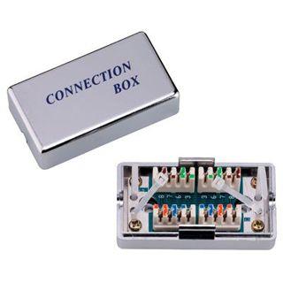 Good Connections Adapter Cat.6 LSA Verbindungsmodul auf Silber geschirmt