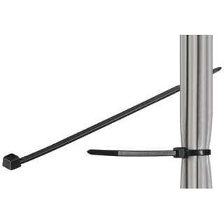 Good Connections Kabelbinder 2,5mm x200mm schwarz 100 Stück
