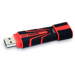 32 GB Kingston DataTraveler R500 rot/schwarz USB 2.0