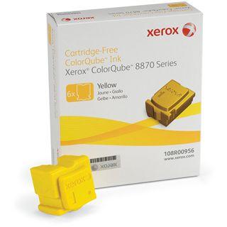 Xerox Tinte 6 Sticks 108R00956 gelb