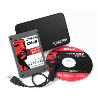"128GB Kingston V Series 2.5"" (6.4cm) SATA 3Gb/s MLC asynchron"