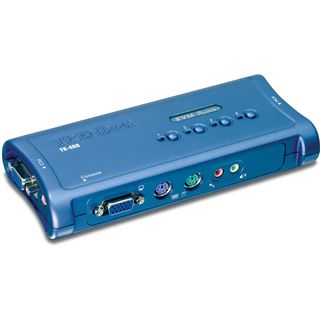 Trendet KVM 4 PORT PS2 KVM SWITCH KIT