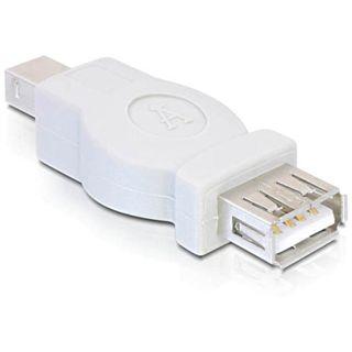 DeLock Adapter GenderChange USB-B Stecker - USB A Buchse