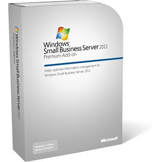 Microsoft Windows Small Business Server 2011 Premium Add-on 64 Bit