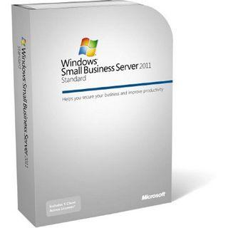 Microsoft Windows Small Business Server 2011 Standard 64 Bit Englisch Zugriffslizenz 5 User