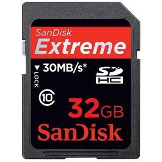 32 GB SanDisk Extreme Pro SDHC UHS-I Retail