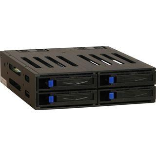 """Inter-Tech ST-1040SR 5.25"""" Wechselrahmen für 4x 2.5"""""""