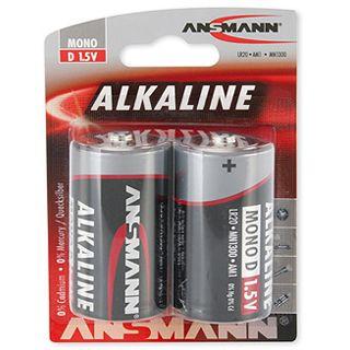 ANSMANN Alkaline D / Mono Alkaline 1.5 V 2er Pack