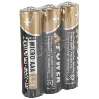 ANSMANN Alkaline AAA / Micro Alkaline 1.5 V 3er Pack
