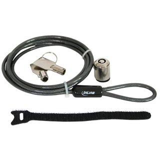 InLine Notebook Sicherheitsschloss, , mit Schlüssel, 4,4mm x 1,5m, bulk