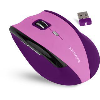 Soyntec Maus INPPUTÂ R520Â VIOLET, Funk, optisch, USB