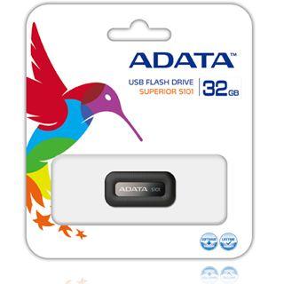 32 GB ADATA Superior Series S101 schwarz USB 2.0